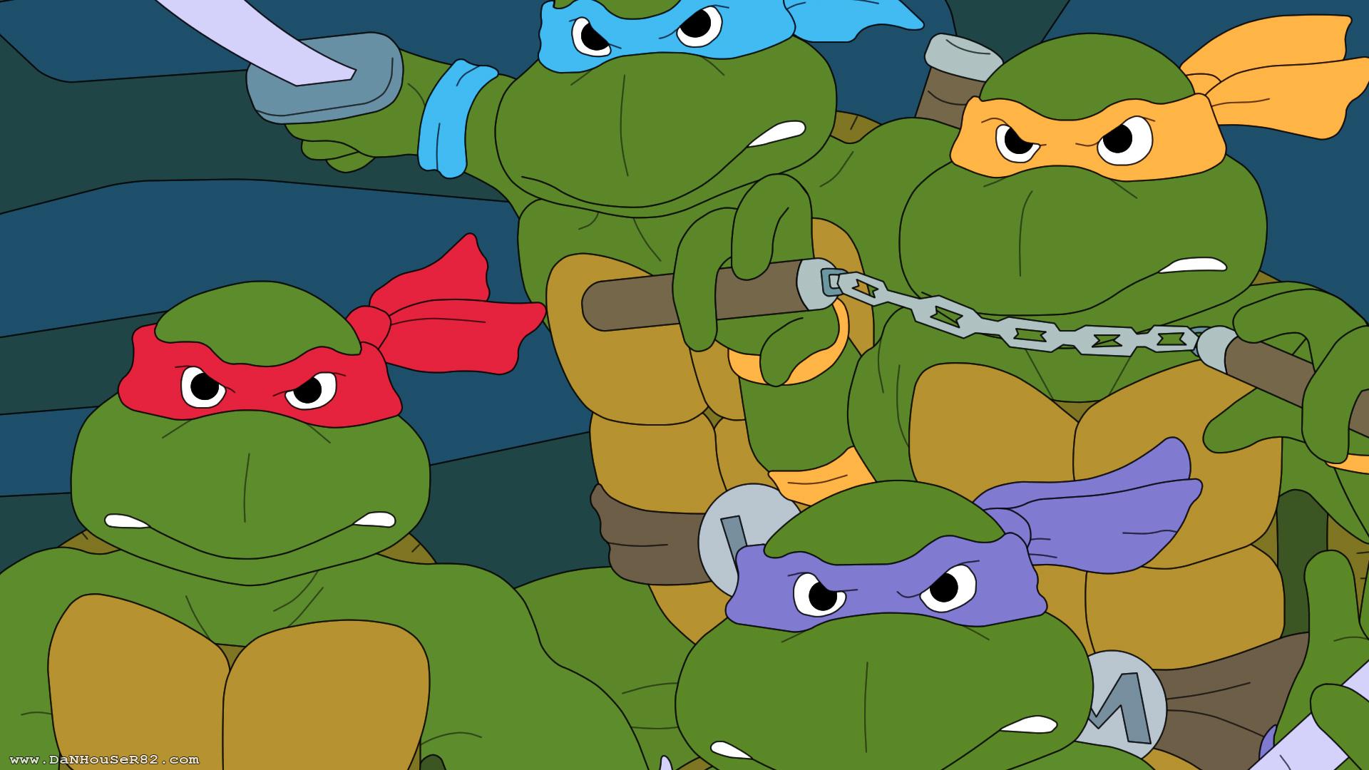 Wallpapers turtles ninja mutant teenage 1920x1080